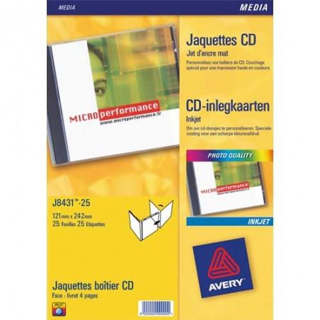 AVE P/200 ETIQ JTENC CD/DVD BL J8676 100