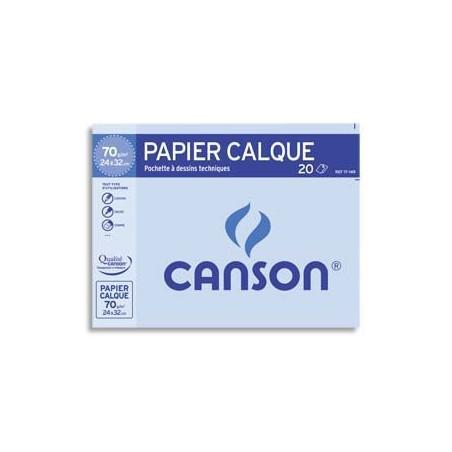 CAN P/10 FEUIL CALQ 70G A3 200017151