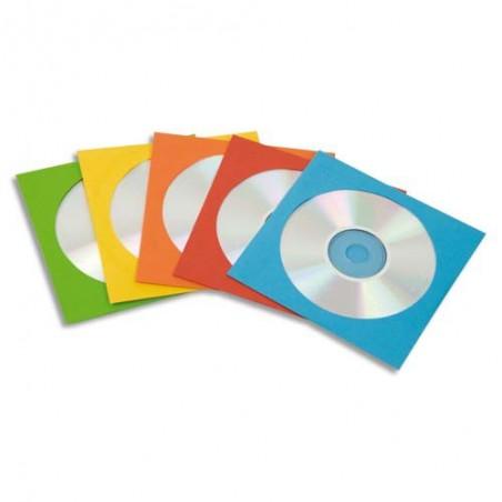 FEL L/50 ENVELOP PAPIER CD COUL 9068901