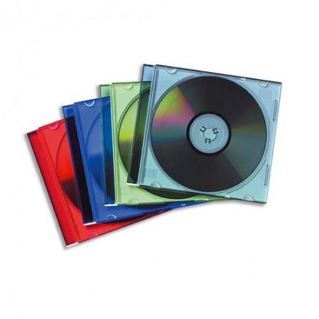 FEL L/25 BOITIERS CD SLIM ASS 98317