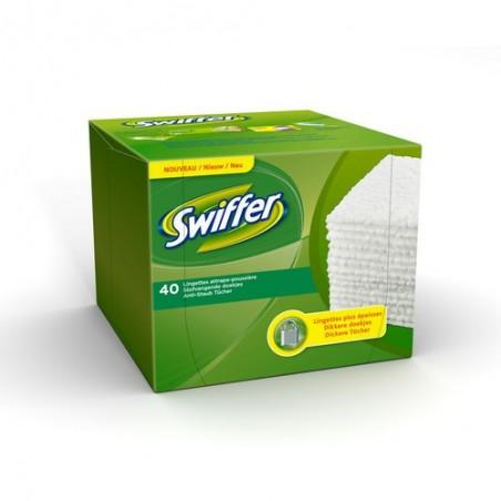 SWF B/40 LINGETTES BALAI SWIFFER 055773