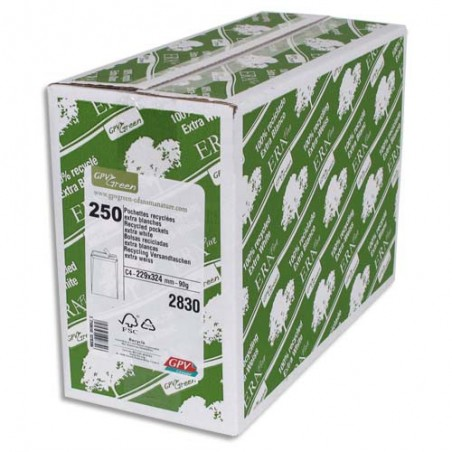 GPV B/250 POCH 90G 229X324 BLC RECY 2830