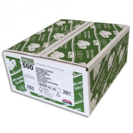 GPV B/500 ENV 80G 110X220 BLC RECY 2821