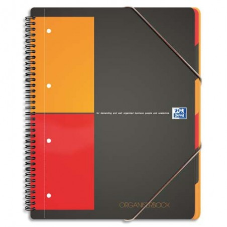 OXF ORGANISERBOOK A4+ 160P 5X5 100102777