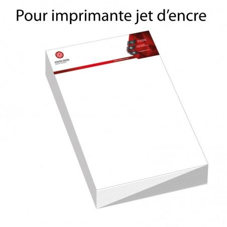 Papier Entête A4 (de 1 à 1000)