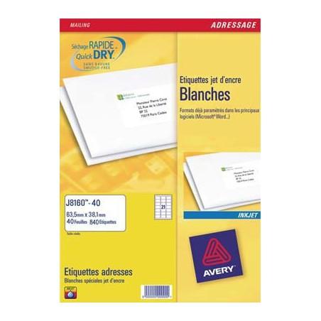 AVE B/600 ETIQ JTENC 63.5X33.9 J8159 25